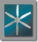 Aluminum Fan - Six Blade